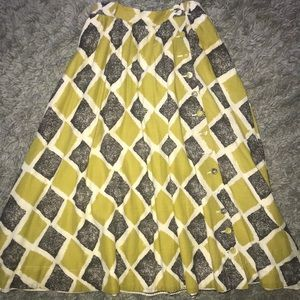 Anthropologie Skirt With Pockets!